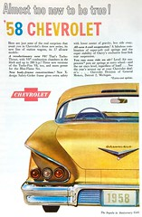 Vintage Ad - 1950s Chevrolet (Christian Montone) Tags: ads advertising vintage vintageads vintagegraphics