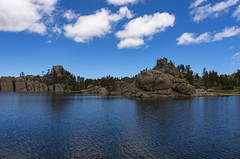 Sylvan Lake boulders (s.d.sea) Tags: park travel lake black clouds forest landscape outdoors spring state pentax south roadtrip hills boulders national dakota sylvan custer