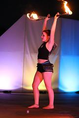 Enchanted Flame 8 (arkansasjournal) Tags: park woman tourism girl lady littlerock circus journal young arkansas local wildwood wildwoodpark perfomer fireperformance arkansasjournal arkansasnews