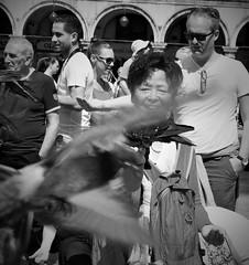 Smiling (Mango*Photography) Tags: street travel venice people white black travelling interesting photoraphy emotional giulia bergonzoni