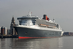 Liverpool QM2 (Nigel Gresley) Tags: 2 liverpool river mary queen cunard mersey
