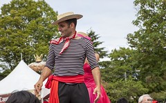 Mr. Italian (Clayton Perry Photoworks) Tags: people canada vancouver spring bc commercialdrive stilts italianday explorebc explorecanada dailyhivevan