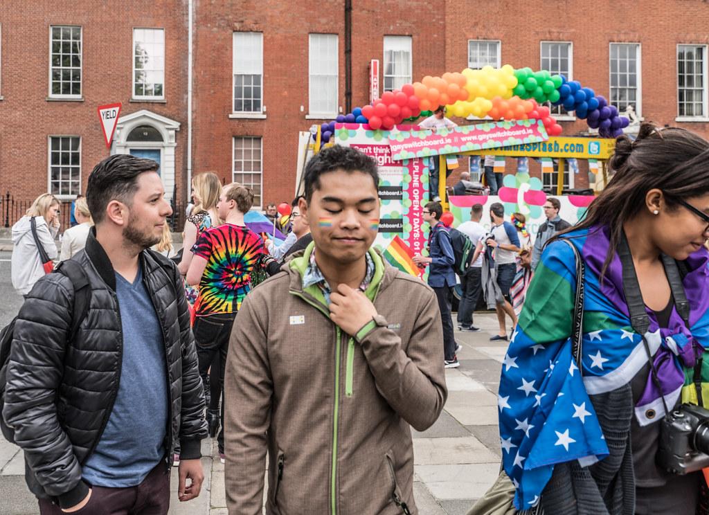 PRIDE PARADE AND FESTIVAL [DUBLIN 2016]-117992