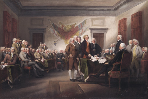 From flickr.com: John Trumbull: The Declaration of Independence {MID-292132}