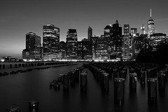 DSC4893 (Dario Crociato) Tags: new york bianco nero bw newyork skyline
