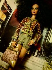 fabulous (krixxxmonroe) Tags: ira d ryan krixx monroe styling brown black latino mixed race family fashion royalty live wire mini clone fierce fabulous dramtic diva avant garde dolls