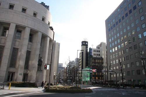 印象的な街、大阪