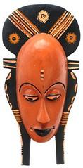 10Y_0912 (Kachile) Tags: art mask african tribal côtedivoire primitive ivorycoast gouro baoulé nativebaoulémasksaremainlyanthropomorphicmeaningtheydepicthumanfacestypicallytheyarenarrowandfemininelookingincomparisontomasksofotherethnicitiesoftenfeaturenohairatallbaouléfacemasksaremostlyadornedwithvarioustrad