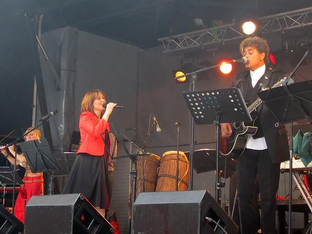 Jean Bosco Safari en Ishtar tijdens Sinksen Kortrijk 13/06/2011
