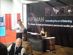 CES 2012 - HiFiMan live music performance