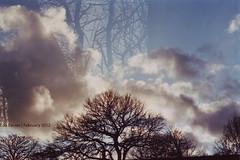 Clouds (Eda Tanses) Tags: tree love film apple analog liverpool computer photography chess double microsoft multiple analogue elma ricoh tls 401 eda explosure tanses