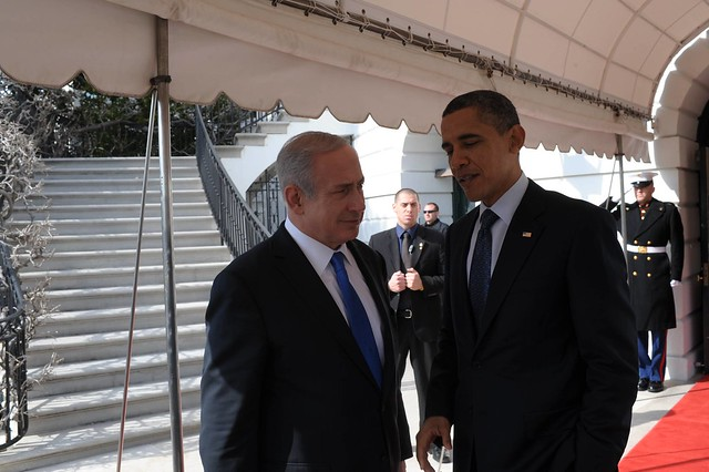 Meeting of PM NETANYAHU with US President Barack Obama at the White House