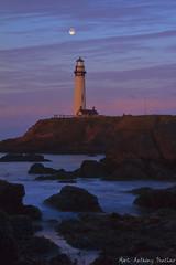 Grace (MarcAnthonySinclair) Tags: california blue lighthouse colors sunrise point coast landscapes artistic zoom cove famous landmarks hour marc bayarea oceans oceanview pigeonpoint sinclair oceanwaves beachwaves epicphotos