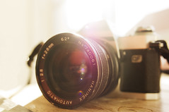 OLD CANON (Ida Myrvold) Tags: sun canon vintage pentax warmth lensflare