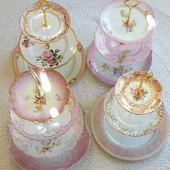 pink_alice_in_wonderland_cupcake_stands_pink_mad_hatter_tea_stands_cake_plate_tray (highteaforalice) Tags: pink blue wedding 2 party england baby 3 flower green english cup floral rose yellow cake modern bar vintage germany garden french table asian dessert shower bav