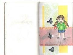 2012 Jan 21 (acrylicmusings) Tags: watercolor sketch artjournal letraset blenderpens derwentinktense
