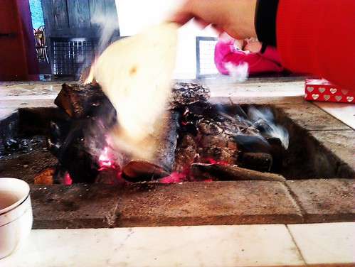 Flipping the lavash