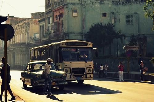 Havana street scene (The Globetrotting photographer) street urban havana cuba scene retro 2012 havanacuba avana  habanacuba  havanastreetscene