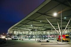 late-night arrivals (friendlydrag0n) Tags: london car night evening nikon dusk arena late arrival