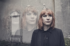Sindrome di Cotard (Tiffany Vecchietti) Tags: portrait death grey model exposure illusion ghosts sick disintegration cotard
