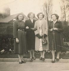 New Recruits Manor Hospital 1954 (Voices Through Corridors) Tags: staff 1950s nurseshome