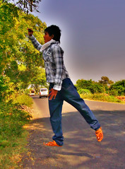 Levitation Photography (Ankit Panchal) Tags: photography jump levitation ankit fujifilmfinepix panchal av200 ankitpanchal