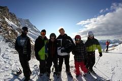 Some of the Group (excluding me) (George Olcott) Tags: winter snow weather season switzerland skiing skiresort 2012 valais verbier basi peakleaders seasonnaire