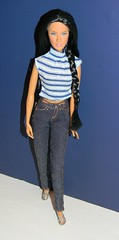 Wind Rider Barbie in Fashion Fever (The Doll Cafe) Tags: blue jeans daria 2007 windrider redress fashionfever sharonzuckerman barbiebasics modelno2 2012dollydaily l3390