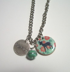Snape and Lily Always Necklace (kiddomerriweather) Tags: necklace lily harry potter jewelry doe swap always snape severus