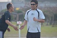 DSC_0081 (mechiko) Tags: 横浜ベイスターズ 120209 新沼慎二 横浜denaベイスターズ 2012春季キャンプ