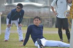 DSC_0102 (mechiko) Tags: 横浜ベイスターズ 120209 渡辺直人 内藤雄太 新沼慎二 横浜denaベイスターズ 2012春季キャンプ