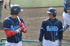 DSC_0545 (mechiko) Tags: 横浜ベイスターズ 120212 石川雄洋 渡辺直人 横浜denaベイスターズ 2012春季キャンプ