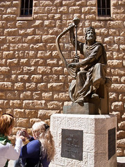 20120310-113920 (fritzmb) Tags: vacation sculpture music building art church public statue israel asia tour place object jerusalem synagogue structure event harp musicalinstrument source oldcity keyword kingdavidstomb descriptor sourcefritzmb