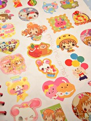 My Sticker Collection - Pt 5 (miki the artist) Tags: cute japanese sticker girly hobby kawaii collecting stickeralbum stickercollection mikitheartist