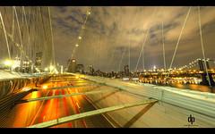 Busy Brooklyn Bridge (Daniel Portalatin Photography) Tags: ny newyork photography cityscape nightscape brooklynbridge hdr