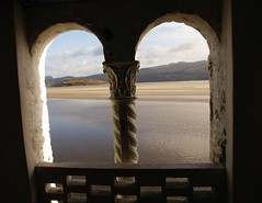 Sea through the arches (Christine Winston) Tags: sea beach wales arch portmeirion gwynnedd wfcportmeirion2012