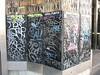 tags (FLATTIRON / ISCE) Tags: barcelona street art arte bcn stickers urbano niko pegatinas jams urba raval combos gotic barri flattiron