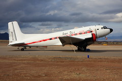 "N34AH Douglas C-117 ""Super DC-3"" at Benson, Arizona (flyingaxel) Tags: arizona aviation douglas benson dc3 c47 c117"