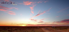 Wide Open Spaces (Mark-Cooper-Photography) Tags: road sunset car clouds canon highway open wide australia nsw area cobb outback 2711 hay plains viewing spaces efs1022mm 550d hayplains booligal haynsw eos550d markcooperphotography