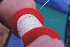 Let's go fly a kite. Up to the highest height (Anna's Simple Path) Tags: kite colors handle march flying holding hands hand wind kites string 90s spool