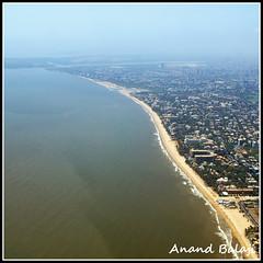 exit() (Anand Balaji) Tags: sea india beach air aerial bombay maharashtra arabian mumbai juhu anand balaji versova balalogic