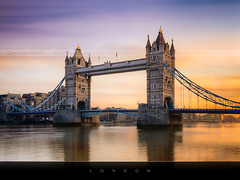London sunrise | EXPLORED #1 | (Beboy_photographies) Tags: bridge london tower sunrise londres pont crpuscule hdr matin photographies beboy magicalskies