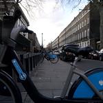 Boris Bikes on Montague Street, London WC1 thumbnail