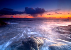Twilight Colours at Sea (PeterYoung1) Tags: sea seascape clouds scotland twilight colours scenic stunningskies