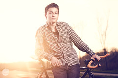 Morgan (Travis Pietsch) Tags: road trees boy sunset sun man bike umbrella paul photography 50mm 22 golden nikon c hour buff teenager travis morgan cyber pietsch 14g syncs d7000 softboxvivitar285hvvavirginiafixiefixedgearbike