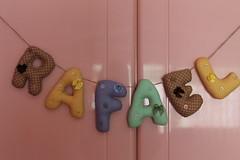 Letrinhas (ceciliamezzomo) Tags: handmade name letters nome patchwork letras