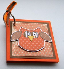 Little Owl Post-it Notepad (Crafty Mushroom) Tags: pad postit note owl paperpieced doodled aprilartisans