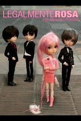 legalmente rosa (mymuffin_15) Tags: pink horizon rosa dal william will blonde pullip aki aron damian gyro legally cybrian richt isul taeyang legalmente
