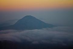 sunrise @Nandi Hills (Sribha Jain) Tags: morning india sunrise day cloudy bangalore karnataka nandihills mostlycloudy