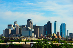 The Dallas Skyline from the Northeast (TxPilot) Tags: dallas skyline northeast texas nikon d700